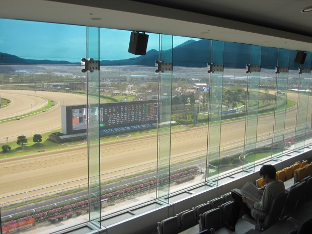 Busan Racecourse can be a lonely place, but it's the only place to be for thoroughbred racing in Korea this weekend
