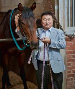 Recovery: Smarty Moonhak with owner Ha Jun Hwan (Pic: KRA)