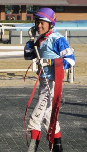 Ladies Man: It's Joe Fujii's 4th major win on a filly in Korea