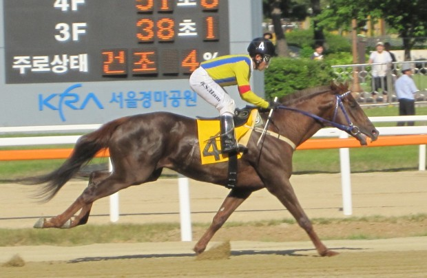 Real Victor and Ham Wan Sik win the Sports Hankuk Trophy at Seoul