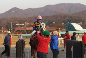 Impetus and Park Tae Jong return to scale after winning the New Year's Commemorative race