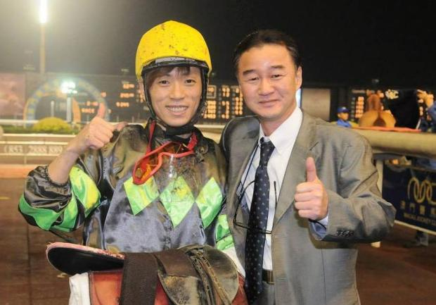 Jo Sung Gon and Kenny Seo in the Taipa Winner's Circle (MJC)