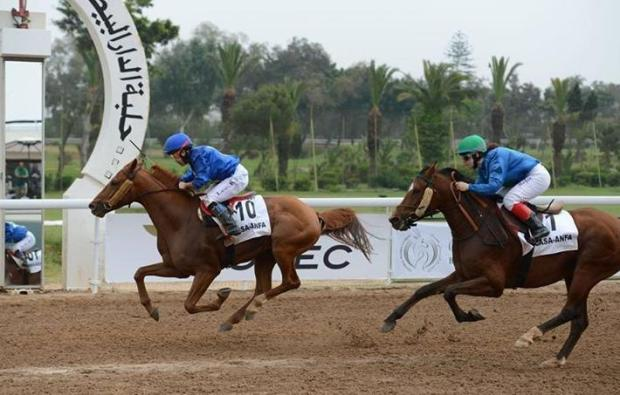 Lee Keum Joo and Kanzaman win in Morocco (Pic: IFAHR)