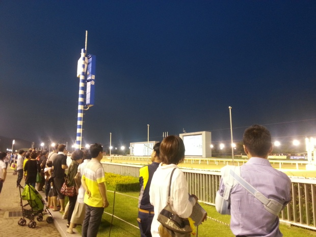 Joe Fujii watches the races at Seoul on Sunday. All punters want him back riding as soon as possible