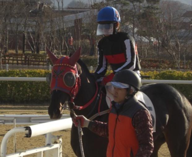 Nobuyuiki Oyama at Busan last Friday (Picture: Hiromi Kobayashi)