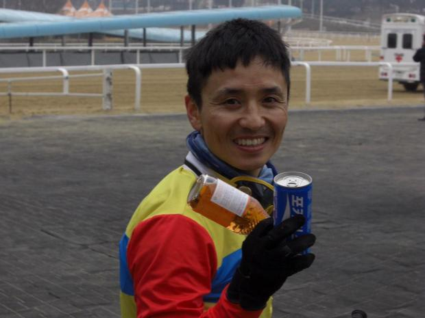 And well he might smile. Moon Se Young was back and in-form this weekend (Pic: Hiromi Kobayashi)