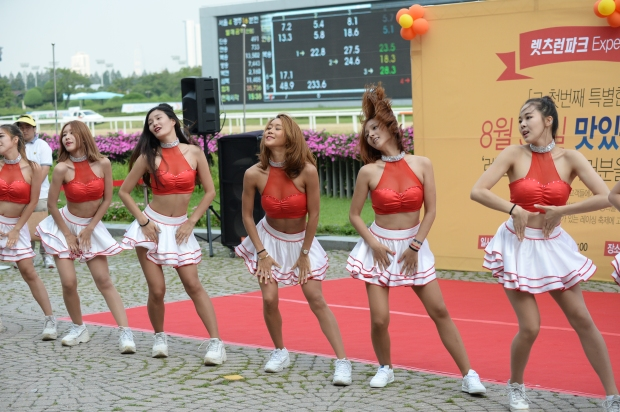 Apropos of nothing, here is a picture of some cheerleaders from the Asia Challenge Cup (Pic: Ross Holburt)